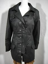 NWT WELLENSTEYN Amato CarbonniteTec Trench Coat Jacket Black size L
