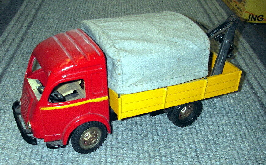 Tin Toy CIJ - Takelwagen Depaneur Renault -1 headlight broken