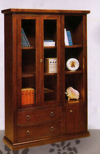 Libreria arte povera soggiorno salotto ufficio ebay for Arredamento arte povera soggiorno