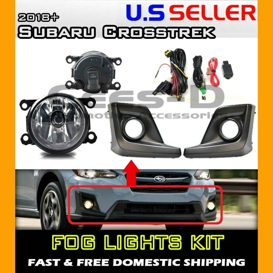 [DIAGRAM_1CA]  complete] FOG LIGHT KIT for 18 19 20 Subaru Crosstrek (housing+switch+wiring)  | eBay | 2007 Wrx Fog Light Wiring Harness |  | eBay
