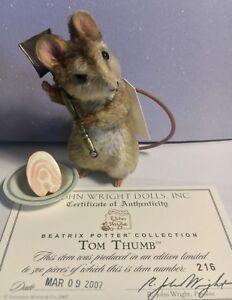 r john wright bear - Tom Thumb Beatrix Potter series