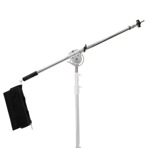 Strong Heavy Duty Stainless Steel 120-220cm Studio Telescopic Boom Arm