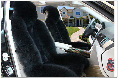 Universal Genuine Sheepskin Long Wool Car Seat Warm Rear Cover Winter Cushion