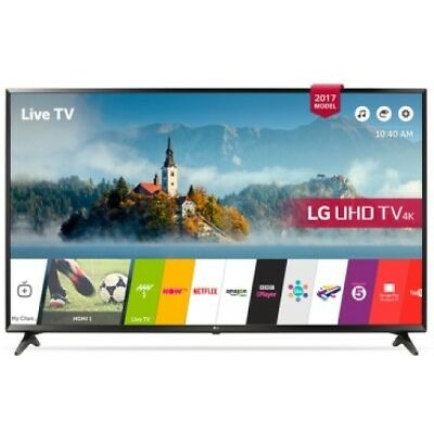 "LG Tv LED 43"" Panel IPS UHD 4K, HDRx3, Smart TV webOS 3.5, Nº serie: 43UJ630V"