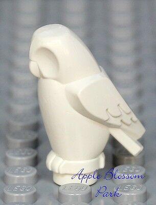 Harry Potter Pet Animal NEW Lego Minifig Blank WHITE OWL Angular Plain Bird