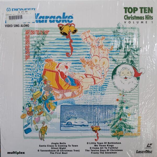 3 Karaoke Laserdiscs - 2 Christmas And 1 Nursery Hits Kortingen Prijs