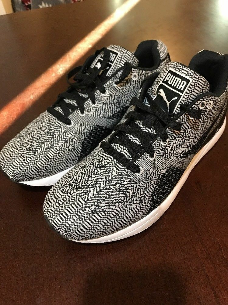Mens Puma XS500 Shoes Woven 360106 01 new trainers Brand discount
