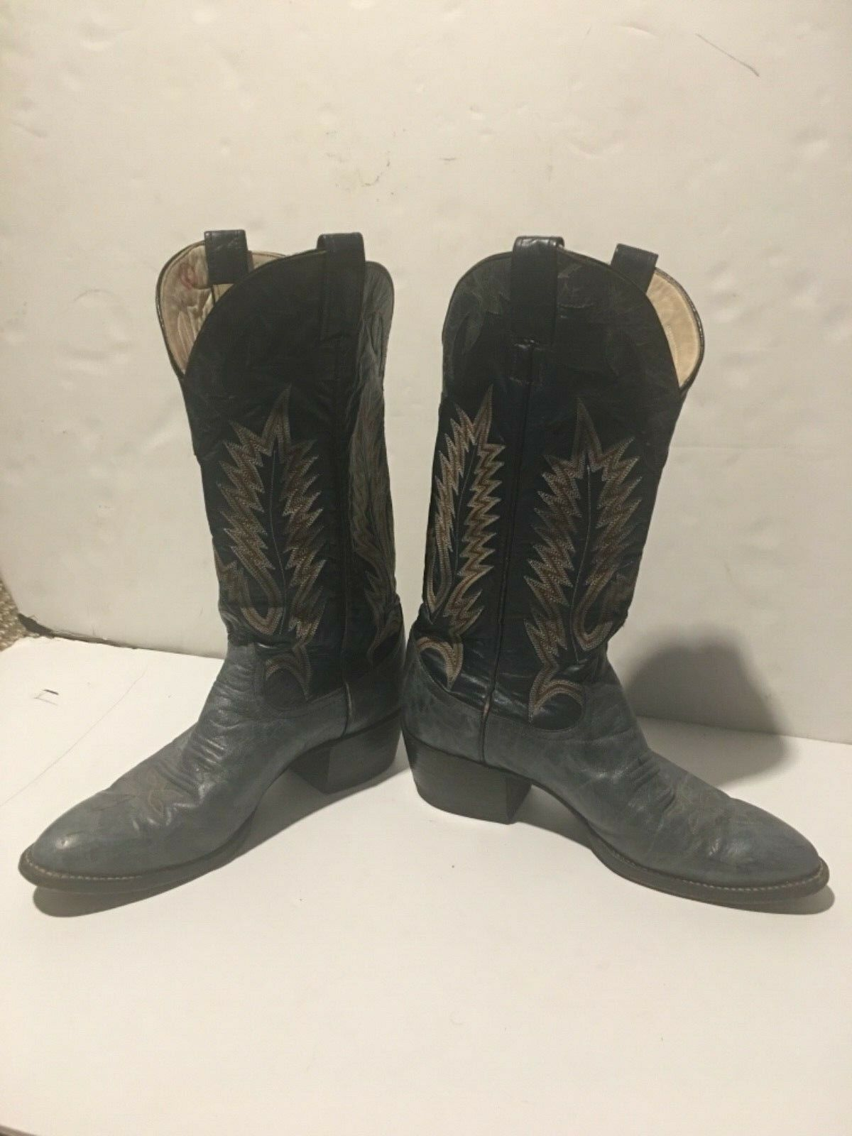 Larry Mahan Cowboy Cowboy Cowboy western Boots size 9 fdd1aa
