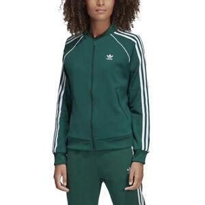 Details about Adidas Originals Women's SST Track Jacket Collegiate Green DV2642 NEW