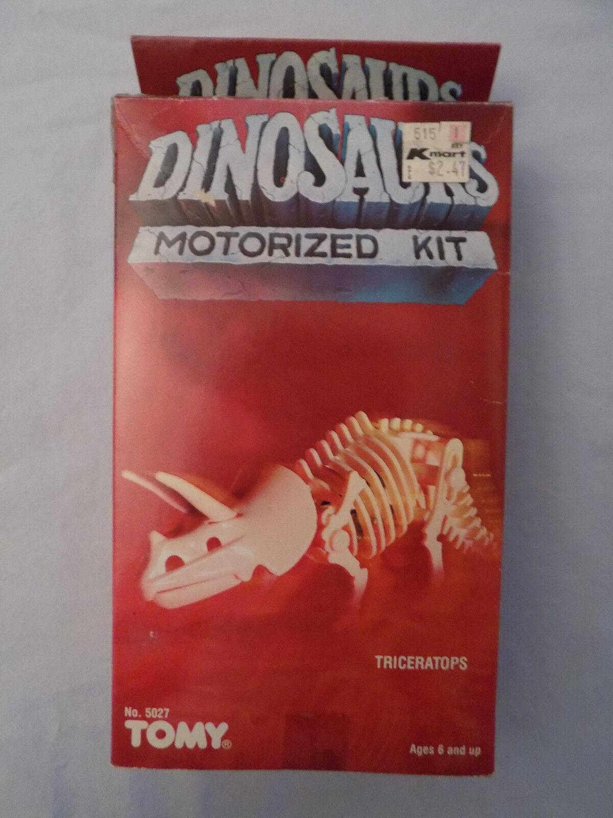 Jahrgang 1984 mein motor - dinosaurier triceratops miniatur - versiegelten kiste