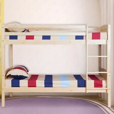 Kidspace Georgie Solid Pine Bunk Bed Frame With Storage Ebay