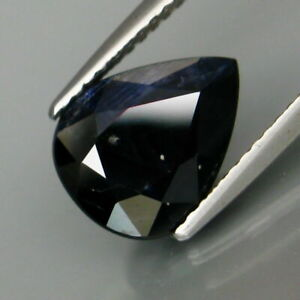 2-98-Carats-Natural-Midnight-Blue-SAPPHIRE-for-Jewelry-Setting-Pear-Cut