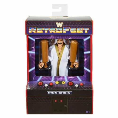 WWE Mattel Iron Sheik retrofest Exclusive Elite Figure