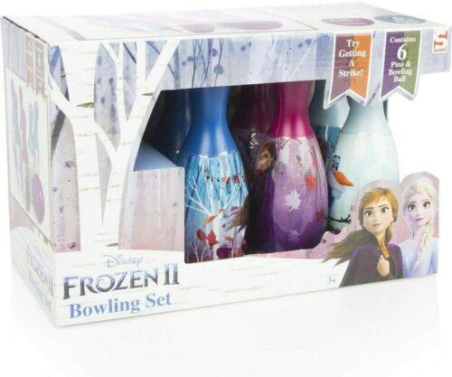 Frozen 2 Elsa Bowling-Set Kegel Set für Kinderzimmer draußen Kinder-Spielzeug