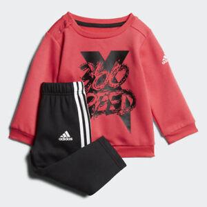 1c741d01cc01 Adidas Infant Mini Me X Boys Sports Jogger Tracksuit Kids Children ...