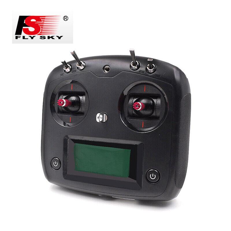 Flysky I6S 2.4G 10CH Radio Control 2A Transmisor con Receptor De Radio Control Teledirigido para IA6B Coche Barco