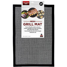 Grill Mat BBQ Tool Mesh BBQ Butler NON Stick Easy Clean Set Of 2