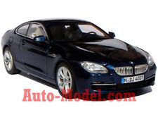 1:43 BMW 2011 6 Series Coupe 650i Deep Sea Blue Metallic Dealer Edition