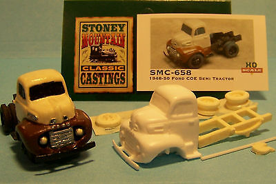 unfinished SMC-650 1948-50 Ford COE  HO-1//87th Scale Clear Resin Kit
