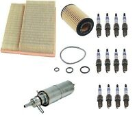 Mercedes W163 Ml320 98-01 Tune Up Kit Air Fuel Oil Paper Filter Bosch Spark Plug on Sale
