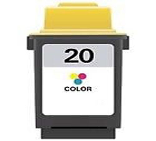Lexmark 20 Colour Printer Ink Cartridge 15M0120