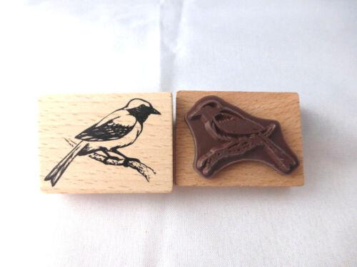 Motivstempel  Vogel # 1 Stempel  Stamping  40 x 30 mm Kartengestaltung Basteln