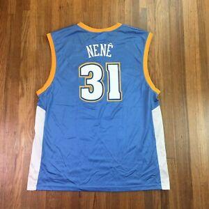 Reebok Nene Hilario Denver Nuggets Basketball Jersey Sz XL / 2XL