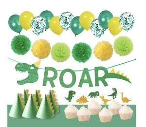 Dinosaur Party Supplies Kids Birthday 31pcs