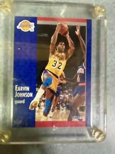 1991-Magic-Johnson-Los-Angeles-Lakers-Point-Guard-Fleer-Basketball-Card-100