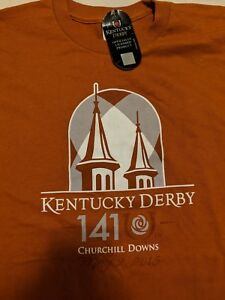 NWT-2015-141st-Kentucky-Derby-Official-Souvenir-T-Shirt-Medium