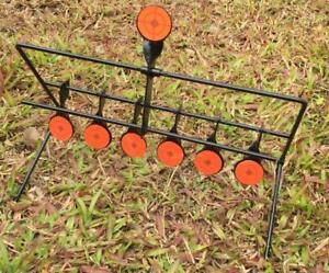 7x objectifs auto réinitialisation Spinning Air Gun Rifle Metal Target Set-afficher le titre d`origine HQ6SAnwV-07154828-852053840