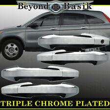 2007-2011 Honda CR-V CRV Chrome Door Handle Covers Overlays Trims