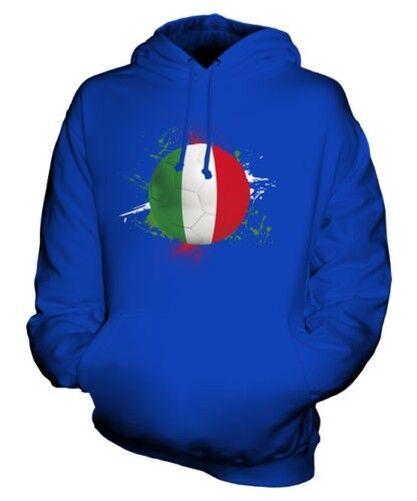 Italie Football Sweat à Capuche Unisexe Haut Cadeau Coupe Du Monde Sport