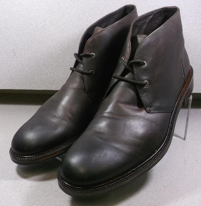 202986 Pfbt 40 Homme Chaussures Taille 11 M marron en cuir 1850 Series Johnston Murphy