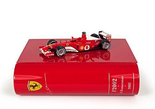 IXO 1 43 2002 Ferrari F2002 BARRICHELLO German GP La Storia