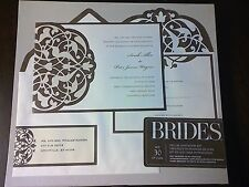 Item 3 New BRIDES Deluxe Invitation Kit Brown Ivy Flourish 30 Pieces Wedding  Birthday  New BRIDES Deluxe Invitation Kit Brown Ivy Flourish 30 Pieces  Wedding ...