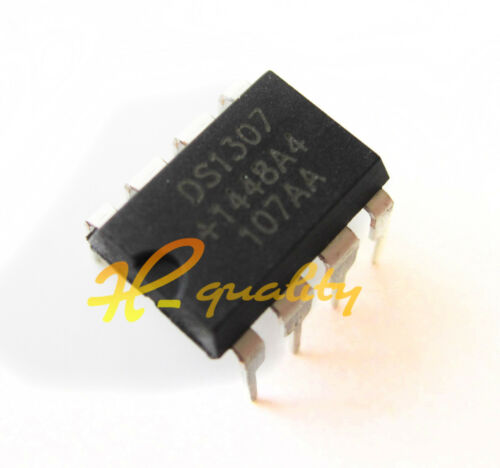 20Pcs IC DS1307 DS1307N DIP8 RTC SERIAL 512K I2C Real-Time Clock TOP new