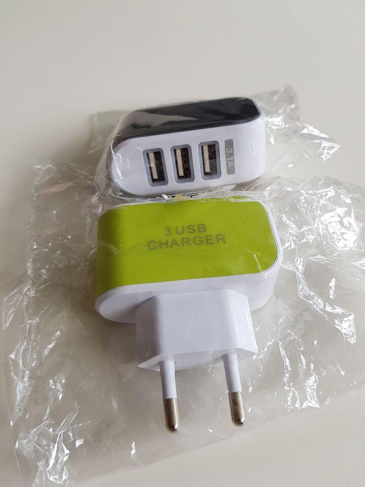 Oplader, t. universal, USB 3.1