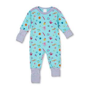 0da5fc93af Das Bild wird geladen SCHIESSER-Baby-Anzug-Vario-Strampler-SMILEYS-56-68-
