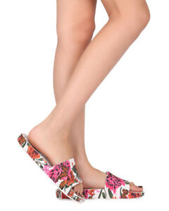 fb4c06986 New Women Melissa Beach Slide III PVC Open Toe Floral Slip On Sandal ...