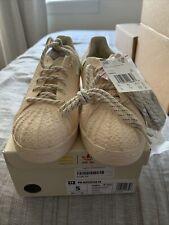 Size 9.5 - adidas Superstar Primeknit x Pharrell Cream