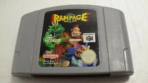 Rampage World Tour-Nintendo 64 n64