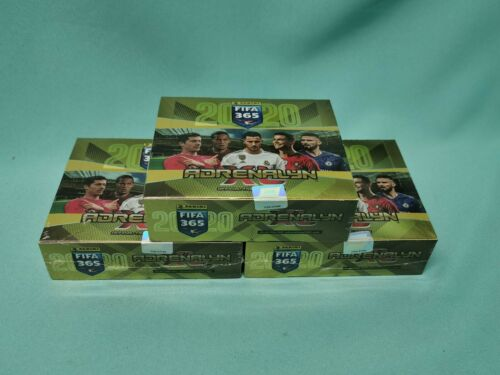 Panini Adrenalyn XL fifa 365 2020 Starter pack display Booster blister multi pack
