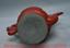 """miniature 12 - 9,6 """"Qianlong Marqué Vieux Chinois Rouge Laque Dynastie Fleur Manipuler Flagon"""