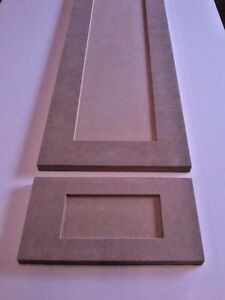 Image Is Loading Custom Cut To Size New MDF Shaker Pannel