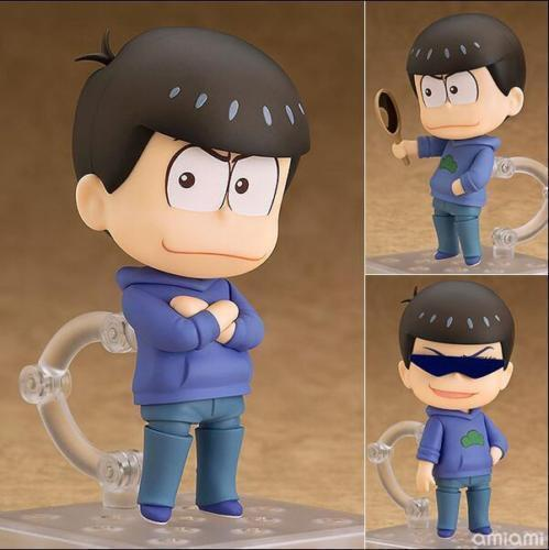 Osomatsu-san Matsuno Karamatsu 4/'/' PVC Figure Nendoroid #624 New In Box