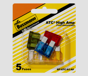 Bussmann-Buss-30-amps-30V-ATC-Automotive-High-Blade-Fuse-5pk-BP-ATC-A5-RP-NEW