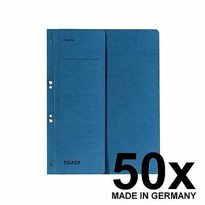 Falken 50 x /Ösenhefter A4 1//2 Vorderdeckel Karton kaufm/ännische Heftung gr/ün