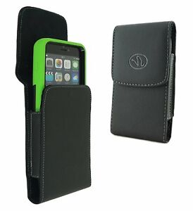For-Apple-iPhone-X-XS-Vertical-Leather-Pouch-Sleeve-Case-Large-Size-Fit-Otterbox