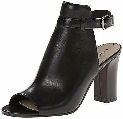Via Spiga Fabrizie Women Block Heel Sandals (12 M, Black)